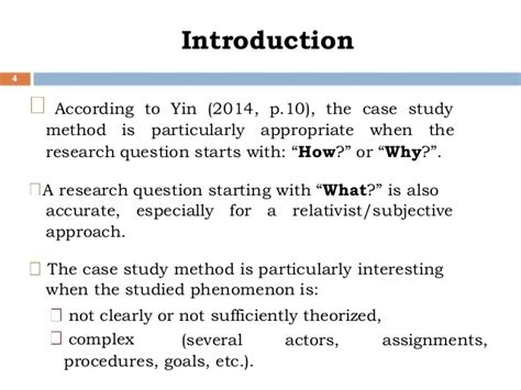 A very brief refresher on the case study method — ESPECIALLY
